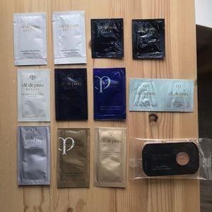 Cle de peau samples,cleansing oil/lotion/serum etc